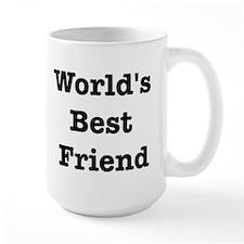 Worlds Best Friend Mug