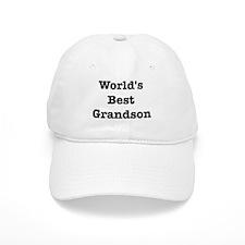 Worlds Best Grandson Cap