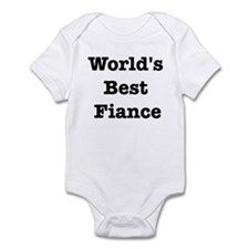 Worlds Best Fiance Infant Bodysuit