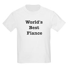 Worlds Best Fiance T-Shirt