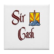 Sir Cash Tile Coaster