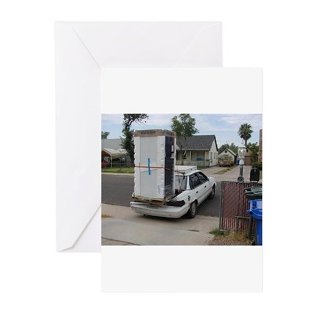 Red Neck Ford Tempo Greeting Cards (Pk of 20)