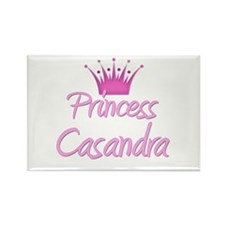 Princess Casandra Rectangle Magnet