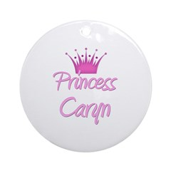 Princess Caryn Ornament (Round)