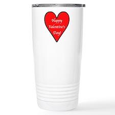 Valentine's Day Heart Travel Mug
