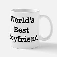 Worlds Best Boyfriend Small Mugs