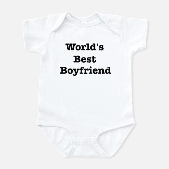 Worlds Best Boyfriend Infant Bodysuit