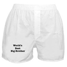 Worlds Best Big Brother Boxer Shorts
