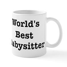 Worlds Best Babysitter Mug