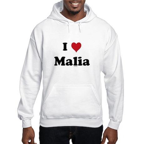 I love Malia Hooded Sweatshirt