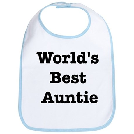 Worlds Best Auntie Bib