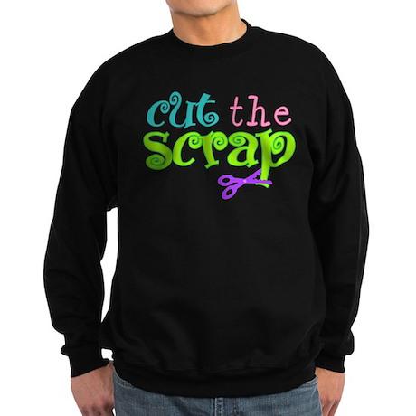 Cut the Scrap Sweatshirt (dark)
