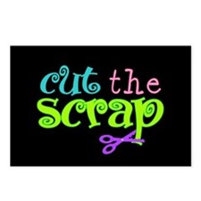 Cut the Scrap Postcards (Package of 8)