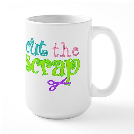 Cut the Scrap Large Mug