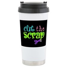 Cut the Scrap Thermos Mug