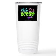 Cut the Scrap Travel Mug