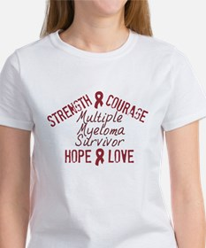 Multiple Myeloma Inspirationa Women's T-Shirt