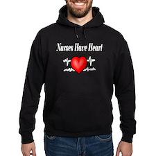 Nurses Have Heart Hoody