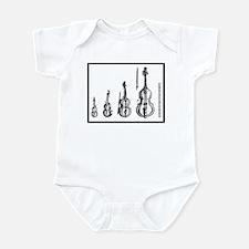 Cute Viol Infant Bodysuit