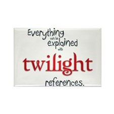 Twilight References Rectangle Magnet