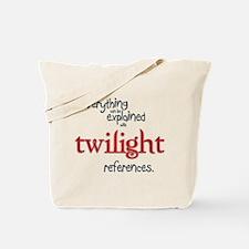 Twilight References Tote Bag