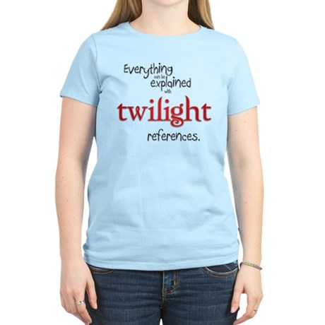 Twilight References Women's Light T-Shirt