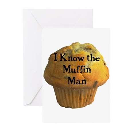 Muffin Man Greeting Cards (Pk of 20)