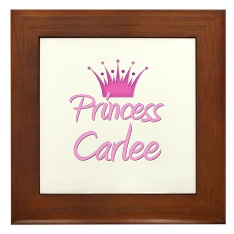 Princess Carlee Framed Tile
