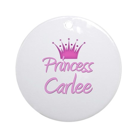 Princess Carlee Ornament (Round)