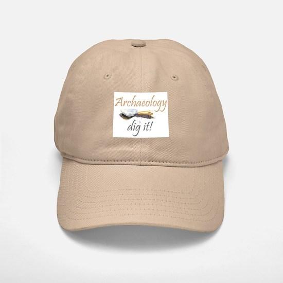 Archaeology, Dig It! Baseball Baseball Cap