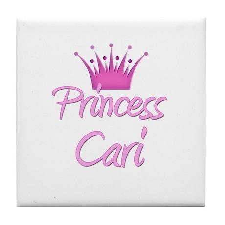 Princess Cari Tile Coaster