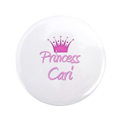 """Princess Cari 3.5"""" Button"""