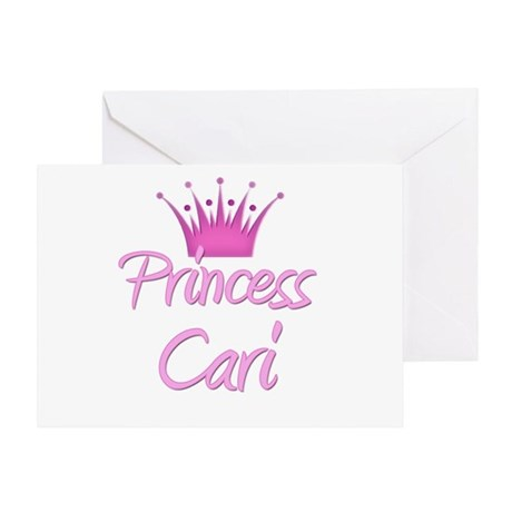 Princess Cari Greeting Card