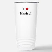 I love Marisol Stainless Steel Travel Mug