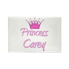 Princess Carey Rectangle Magnet