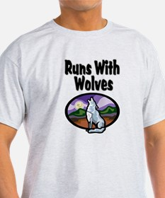 Running with Wolves T-Shirt