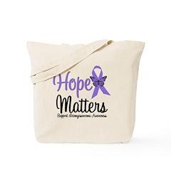 Leiomyosarcoma Hope Tote Bag