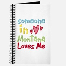 Someone in Montana Loves Me Journal