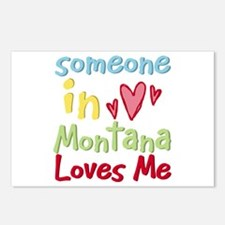 Someone in Montana Loves Me Postcards (Package of