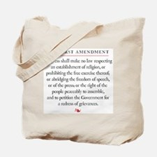 First Amendment Tote Bag