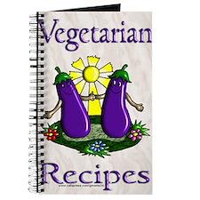 Vegetarian Blank Recipe Book