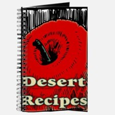 Red Apple Desert Blank Recipe Book