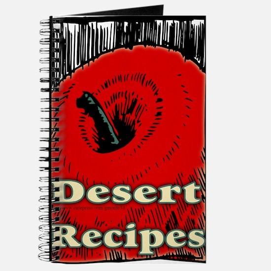 Red Apple Desert Blank Recipe Book