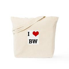 I Love BW Tote Bag