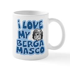 I Love my Bergamasco Small Mug