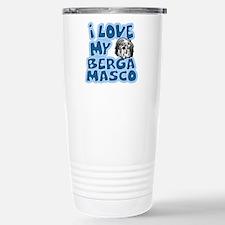 I Love my Bergamasco Travel Mug