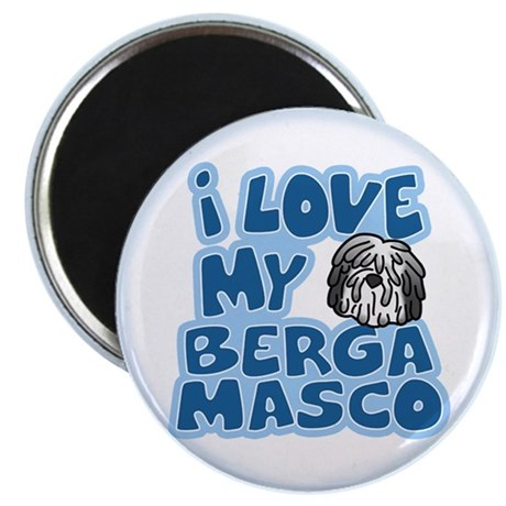 I Love my Bergamasco Magnet