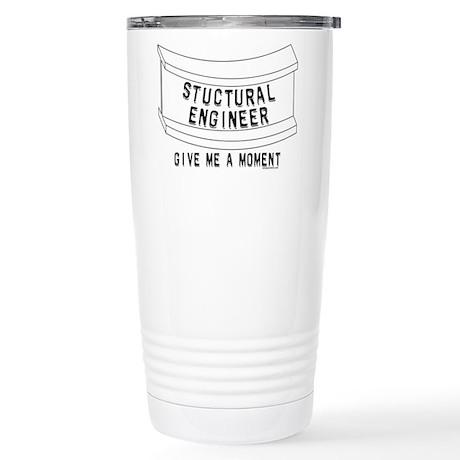 Stuctural Engineer Stainless Steel Travel Mug