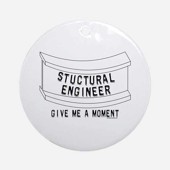 Stuctural Engineer Ornament (Round)