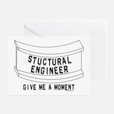 Stuctural Engineer Greeting Card